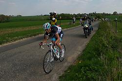 17-04-2011 WIELRENNEN: AMSTEL GOLD RACE: VALKENBURG<br /> Koploper Andy Schleck LUX<br /> ©2011-WWW.FOTOHOOGENDOORN.NL / Peter Schalk