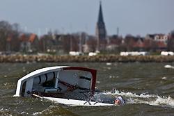 © Sander van der Borch. Ijselmeer, Medemblik. Practice day dutch Optimist kernploeg (22 march 2009).