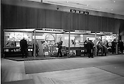 09/04/1964<br /> 04/09/1964<br /> 09 April 1964<br /> Photographic equipent company stands at the Photography Fair at the Intercontinental Hotel, Dublin. A general view of some of the displays.
