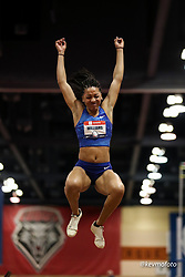 2020 USATF Indoor Championship<br /> Albuquerque, NM 2020-02-15<br /> photo credit: © 2020 Kevin Morris<br /> womens long jump, Nike