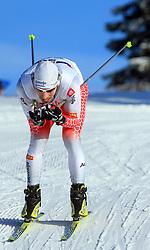 Slovenian cross-country skier Nejc Brodar at 10th OPA - Continental Cup 2008-2009, on January 17, 2009, in Rogla, Slovenia.  (Photo by Vid Ponikvar / Sportida)