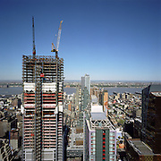 One World Trade Center construction.