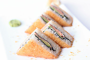 Deep fried Sushi sandwich