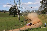 MOTORSPORT - WORLD RALLY CHAMPIONSHIP 2011 - AUSTRALIA RALLY - COFFS HARBOUR (AUS) - 8 TO 11/09/2011 - PHOTO: BASTIEN BAUDIN / DPPI - <br /> 11 PETTER SOLBERG (NOR) / CHRIS PATTERSON (GBR) - CITROËN DS3 WRC - PETTER SOLBERG WRT - ACTION