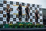 August 22-24, 2014: Virginia International Raceway. Lamborghini grid girls