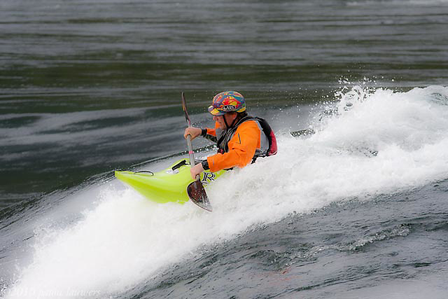 Free style Kayakers