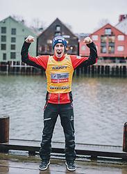 12.03.2020, Granasen, Trondheim, NOR, FIS Weltcup Skisprung, Raw Air, Trondheim, Herren, im Bild Gesamtweltcupsieger Stefan Kraft (AUT) // Overall Worldcup Winner Stefan Kraft (AUT) during men's 3rd Stage of the Raw Air Series of FIS Ski Jumping World Cup at the Granasen in Trondheim, Norway on 2020/03/12. EXPA Pictures © 2020, PhotoCredit: EXPA/ JFK