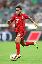 04.08.2015, Allianz Arena, Muenchen, GER, AUDI CUP, FC Bayern Muenchen vs AC Mailand, im Bild Juan Bernat (FC Bayern Muenchen #18) // during the 2015 AUDI Cup Match between FC Bayern Muenchen and AC Mailand at the Allianz Arena in Muenchen, Germany on 2015/08/04. EXPA Pictures © 2015, PhotoCredit: EXPA/ Eibner-Pressefoto/ Schüler<br /> <br /> *****ATTENTION - OUT of GER*****