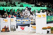 Maikel van der Vleuten - Dana Blue<br /> The Dutch Masters - Indoor Brabant 2019<br /> © DigiShots