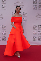 Actress Gemma-Leah Devereux at the IFTA Film & Drama Awards (The Irish Film & Television Academy) at the Mansion House in Dublin, Ireland, Saturday 9th April 2016. Photographer: Doreen Kennedy