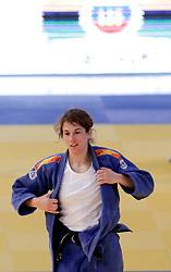 23.04.2010, Ferry Dusika Stadion, Wien, AUT, Judo European Championships, Cecilla Blanco (ESP) vs Mylene Chollet (FRA), during Judo European Championships 2010, EXPA Pictures 2010, Photographer EXPA/ S. Trimmel / SPORTIDA PHOTO AGENCY