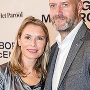NLD/Amsterdam/20171004 - Première Borg/McEnroe, Elle van Rijn en partner Nicola Villa