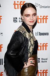 September 11, 2018 - Toronto, Ontario, Kanada - Odessa Young bei der Premiere von 'Assassination Nation' auf dem 43. Toronto International Film Festival im Ryerson Theatre . Toronto, 11.09.2018 (Credit Image: © Future-Image via ZUMA Press)