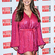 Kelly Brook Arrivals at Pretty Woman The Musical press night at Piccadilly Theatre on 2nd March 2020, London, UK.