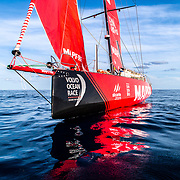 Leg 9, from Newport to Cardiff, day 03 on board MAPFRE, no wind during a long transition. 22 May, 2018.