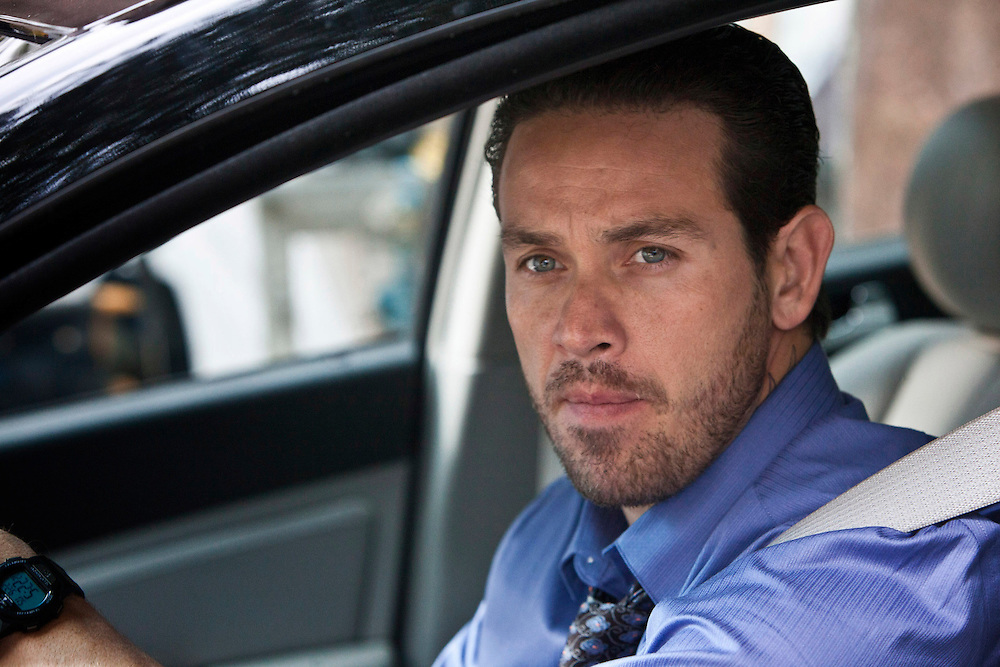 """In this episode of Breakout Kings, escaped inmate Benny Cruz (Kevin Alejandro) was serving a life sentence for the murder of two rival gang bangers. Diagnosed with an aggressive cancer, he's decided to try and do some """"good"""" with what time he has left.  Photo: Skip Bolen / A&E Television Networks"""