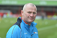 Woking manager Alan Dowson during the The FA Cup 2nd round match between Swindon Town and Woking at the County Ground, Swindon, England on 2 December 2018.