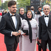 NLD/Hilversum/20180903 -   Voetbalgala 2018, Alireza Jahanbakhsh en familie