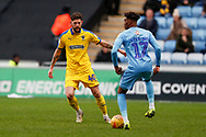 Wimbledon midfielder Anthony Wordsworth (40) in action  during the EFL Sky Bet League 1 match between Coventry City and AFC Wimbledon at the Ricoh Arena, Coventry, England on 12 January 2019.