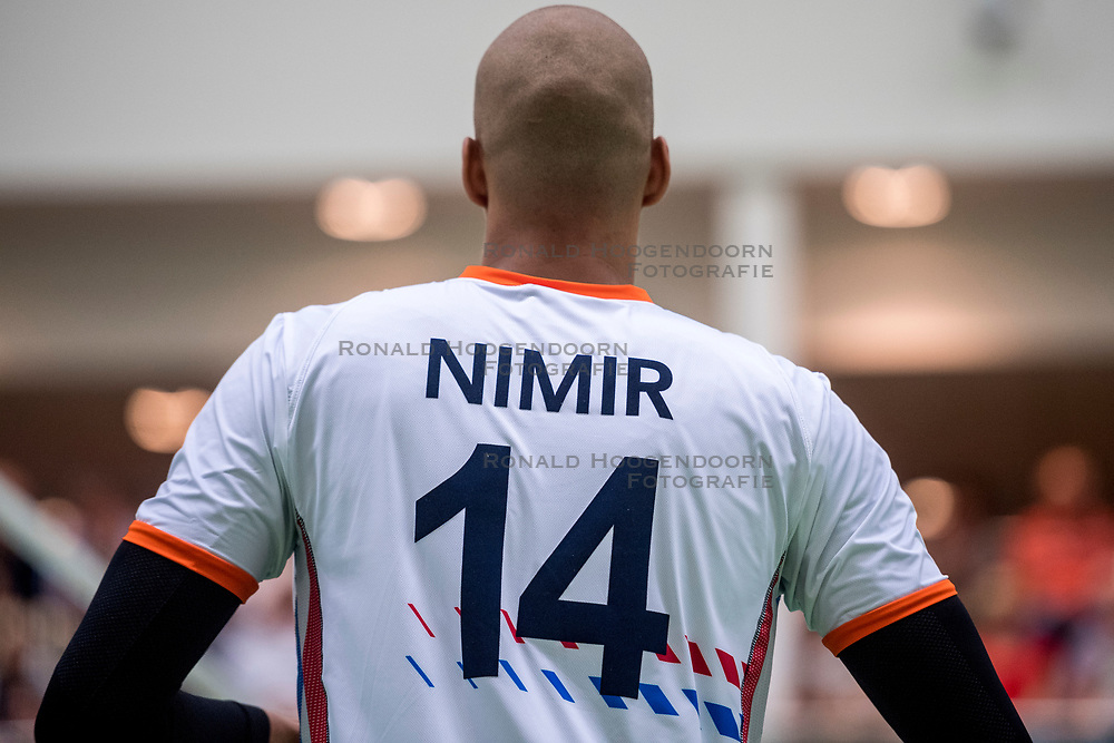 12-05-2018 NED: Netherlands - Finland, Wijchen<br /> Netherlands win with 3-0 the friendly match against Finland / Nimir Abdelaziz #14 of Netherlands