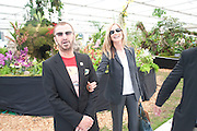 RINGO STARR; BARBARA BACH, Press view of the 2010 Chelsea Flower Show. Royal Hospital Rd. London. 24 May 2010. -DO NOT ARCHIVE-© Copyright Photograph by Dafydd Jones. 248 Clapham Rd. London SW9 0PZ. Tel 0207 820 0771. www.dafjones.com.