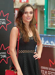 Edinburgh International Film Festival, Wednesday, 19th June 2018<br /> <br /> Opening Night Red Carpet: PUZZLE (International Premiere) <br /> <br /> Pictured: Sophie Skelton<br /> <br /> (c) Aimee Todd | Edinburgh Elite media