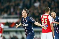 FOOTBALL - FRENCH CHAMPIONSHIP 2012/2013 - L1 - PARIS SAINT GERMAIN VS REIMS - 20/10/2012 - KEVIN GAMEIRO (PARIS SAINT-GERMAIN)