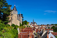 France, Indre-et-Loire (37), Montrésor, classé Les Plus Beaux Villages de France, le chateau // France, Indre-et-Loire (37), Montrésor,  classified Les Plus Beaux Villages de France or the Most beautiful villages of France, the castle