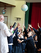 12/11/2018 Repro free: Galway Science and Technology Festival, the largest science event in Ireland, runs from 11-25 November featuring exciting talks, workshops and special events. Full programme at GalwayScience.ie. <br /> <br /> Mercy Primary school pupils  enjoying the festival. Photo:Andrew Downes, Xposure.