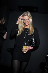 CHELSEY DAVY at the launch of the new Chinawhite at 4 Winsley Street, London on 21st October 2009.