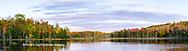 64776-01114 Red Jack Lake in fall Alger Co. MI
