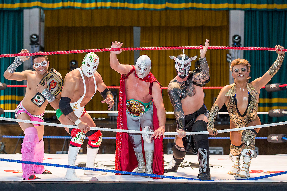 "Mexico's 'legends' and masked superheroes will gather in the UK to perform in ""The Greatest Spectacle of Lucha Libre"", an three-day extravaganza with 'epic' live confrontations of Good vs. Evil. Starring the finest Mexican fighters, Bolivia's Fighting Cholitas and the UK's own Lucha Britannia, the weekend will also feature wild Cabaret acts, authentic Mexican street-food and Jose Cuervo tequila cocktails. On the 8th July, two films about Lucha Libre will premiere at a dedicated Film screening and Art exhibition. Over the three days, York Hall will be transformed into a retro-style Mexican Arena Each day will feature different shows, including matinees for family audiences, a massive Grand Finale, and more raucous Friday night cabaret spectacular. The show runs in Bethnal Green from 9th – 11th July 2015"