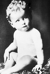 Jun 01, 1929; Hollywood, California, USA; 1929, Pictured: ROGER MOORE, BABY/YOUTH (AS THEY WERE).   (Credit Image: Austral/ZUMAPRESS.com)
