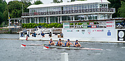 """Henley-On-Thames, Berkshire, UK.,Thursday, 12.08.21, Visitors"""" Challenge  Trophy,  TBC Racing USA.,  move move past the progress board in their heat,  2021 Henley Royal Regatta, Henley Reach River Thames, [ Mandatory Credit © Peter Spurrier/Intersport Images],"""