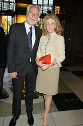 MARTIN ROTH Director of The V&A and LADY WOLFSON at a private view of 'Horst: Photographer of Style' at The V&A Museum, London on 3rd September 2014.