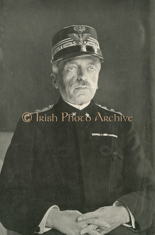 Field Marshal Luigi Cadorna (1850-1928) Chief of Staff of the Italian Army during the First World War.