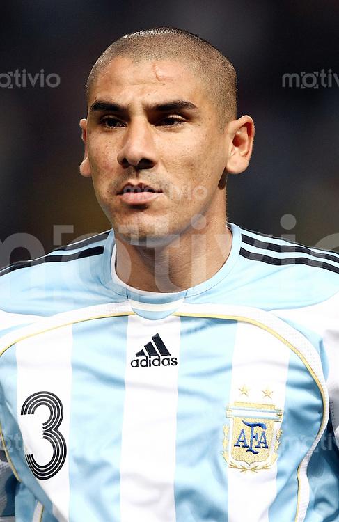 Fussball   International   42. Copa America   Paraguay - Argentinien         Daniel DIAZ (ARG), Portrait.