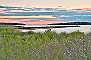 The view of Wellfleet Harbor from Indian Neck.