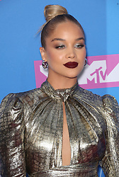 August 21, 2018 - New York City, New York, USA - 8/20/18.Jasmine Sanders at the 2018 MTV Video Music Awards at Radio City Music Hall in New York City. (Credit Image: © Starmax/Newscom via ZUMA Press)