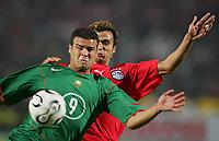 v.l. Saboun Abdelali Bou, Ahmed Dawoud Ibrahim Said  Aegypten        <br /> Africa Cup 2006 Aegypten - Marokko<br /> Egypt - Marokko<br /> Norway only