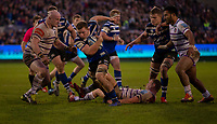 Bath Rugby's Sam Underhill in action during todays match<br /> <br /> Photographer Bob Bradford/CameraSport<br /> <br /> Gallagher Premiership Round 11 - Bath Rugby v Leicester Tigers - Sunday 30th December 2018 - The Recreation Ground - Bath<br /> <br /> World Copyright © 2018 CameraSport. All rights reserved. 43 Linden Ave. Countesthorpe. Leicester. England. LE8 5PG - Tel: +44 (0) 116 277 4147 - admin@camerasport.com - www.camerasport.com