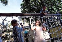 Kids in a park, Segovia, Spain