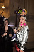 VICTORIA HOWARD; BELLA HOWARD, Ball at to celebrateBlanche Howard's 21st and  George Howard's 30th  birthday. Dress code: Black Tie with a touch of Surrealism. Castle Howard. Yorkshire. 14 November 2015