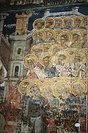 """Romania. Moldovita"""" monastery / monastère de Moldovita   bucovine  Roumanie"""