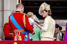 Royals at Trooping the Colour - 9 June 2019