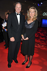 JONATHAN VINEHALL & HEATHER LOVE she is Chairman for Battersea Dogs & Cats Home at the annual Collars & Coats Gala Ball in aid of Battersea Dogs & Cats Home held at Battersea Evolution, Battersea Park, London on 11th November 2011.