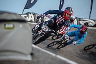#24 (SHARRAH Corben) USA [Daylight, Faith, Avian] at Round 8 of the 2019 UCI BMX Supercross World Cup in Rock Hill, USA