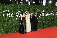 Roberta Armani, Cate Blanchett, Giorgio Armani and Julia Roberts, The Fashion Awards 2019, Royal Albert Hall, London, UK, 02 December 2019, Photo by Richard Goldschmidt