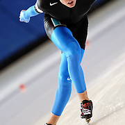 December 30, 2009 - Kearns, Utah - Ryan Bedford wins the Gold Medal during the 10,000m event at US Long Track Speedskating Championships. Bedford's performance secured his spot on the US Team for the 2010 Olympic Games in Vancouver, Canada.