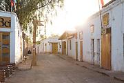 San Perdo de Atacama Streets, Atacama Desert. Chile, South America